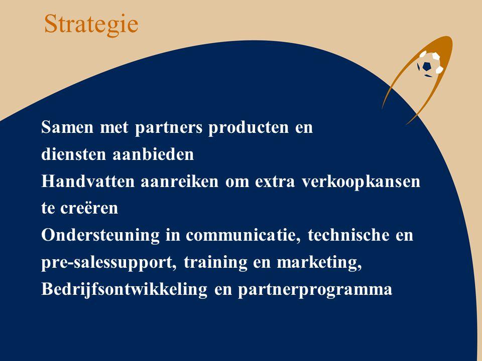 Strategie Samen met partners producten en diensten aanbieden
