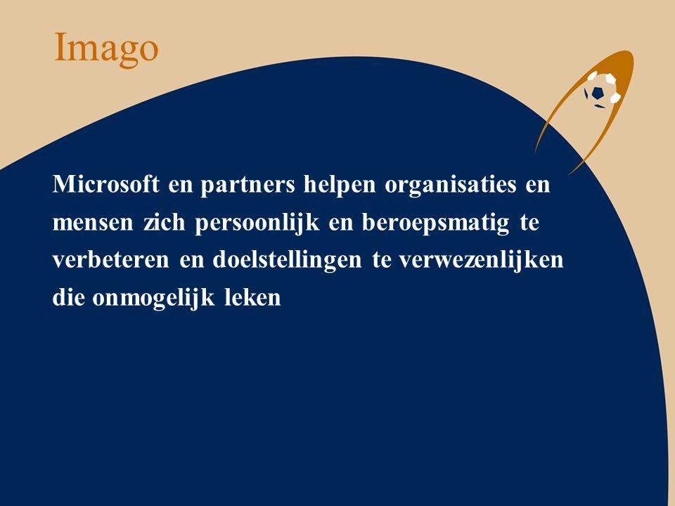 Imago Microsoft en partners helpen organisaties en