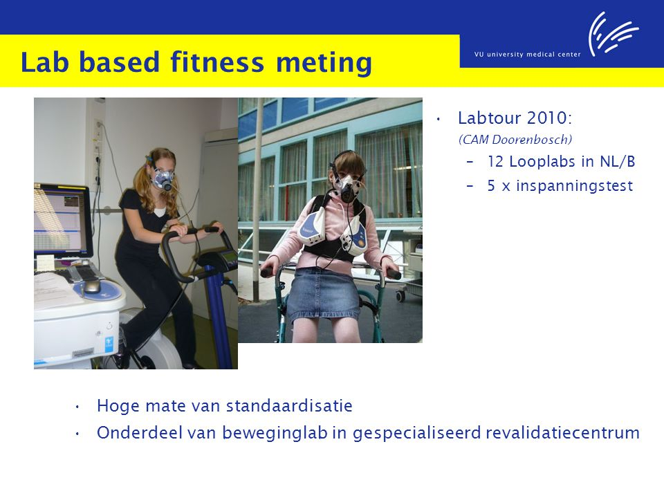 Lab based fitness meting