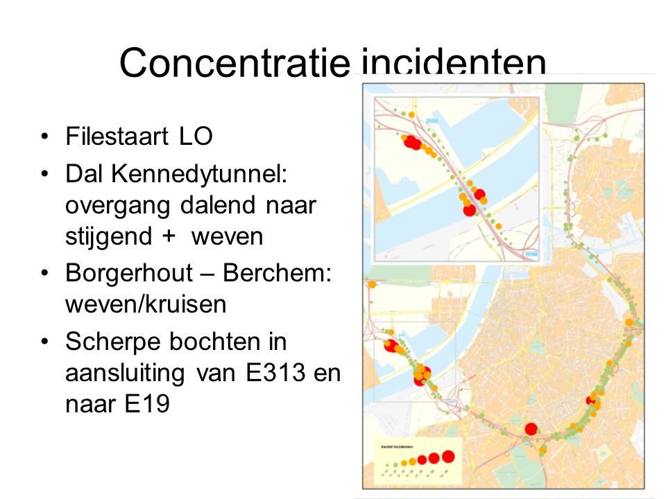 Concentratie incidenten