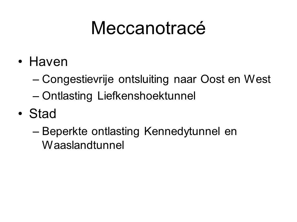 Meccanotracé Haven Stad Congestievrije ontsluiting naar Oost en West