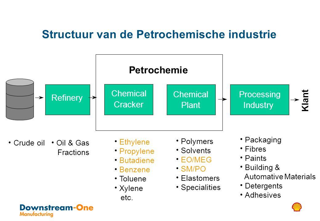 Structuur van de Petrochemische industrie