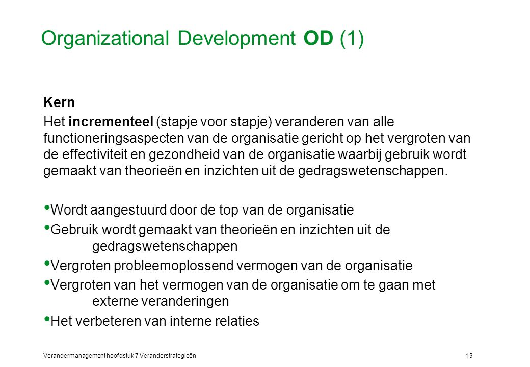 Organizational Development OD (1)