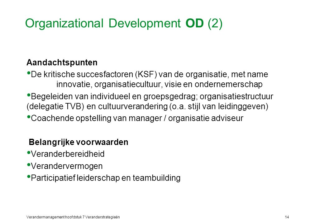 Organizational Development OD (2)