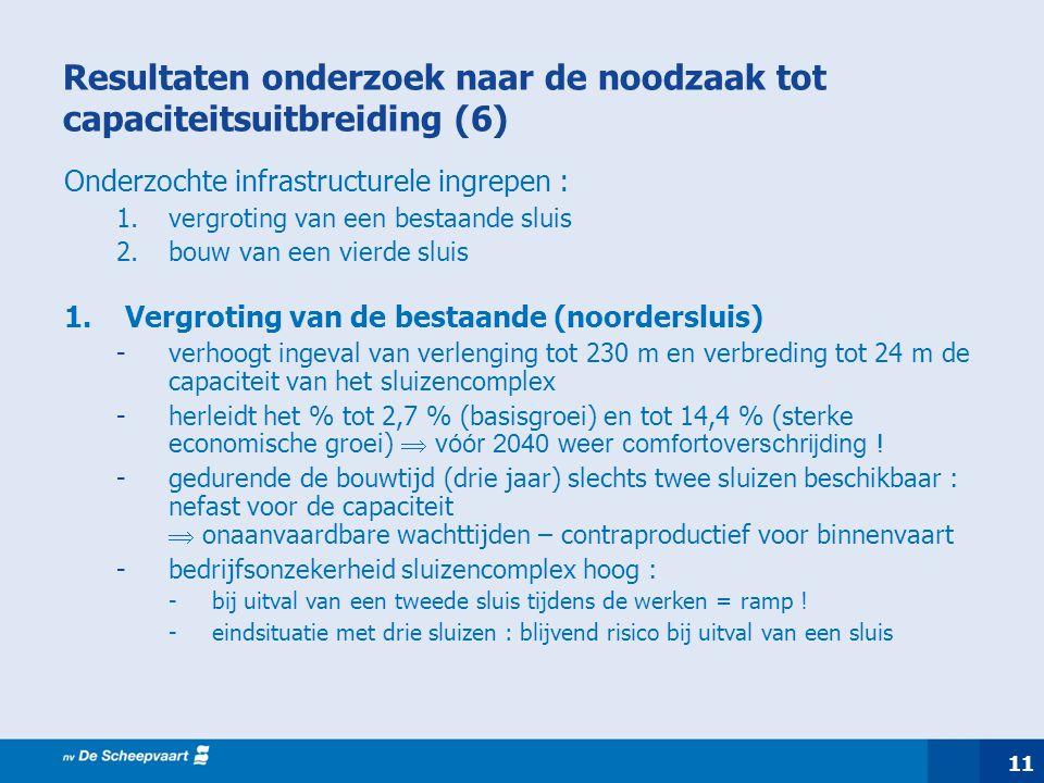 Resultaten onderzoek naar de noodzaak tot capaciteitsuitbreiding (6)