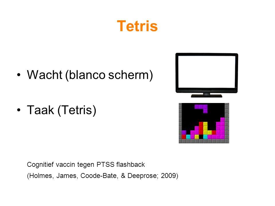Tetris Wacht (blanco scherm) Taak (Tetris)