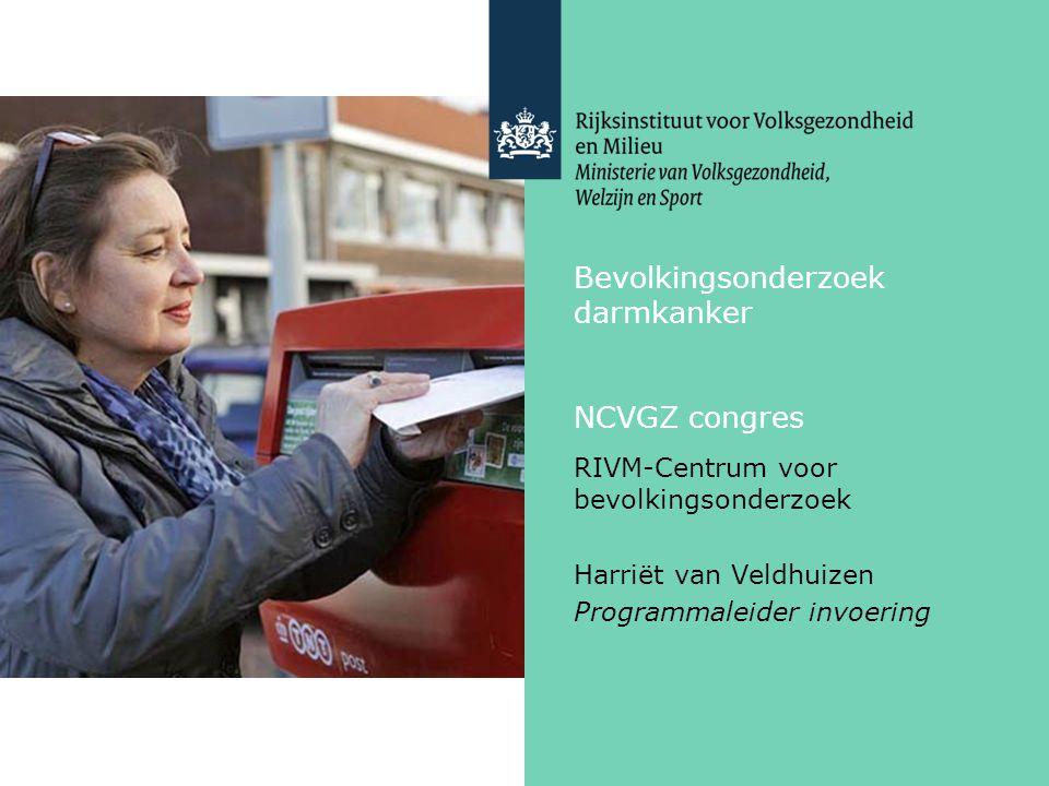 Bevolkingsonderzoek darmkanker NCVGZ congres