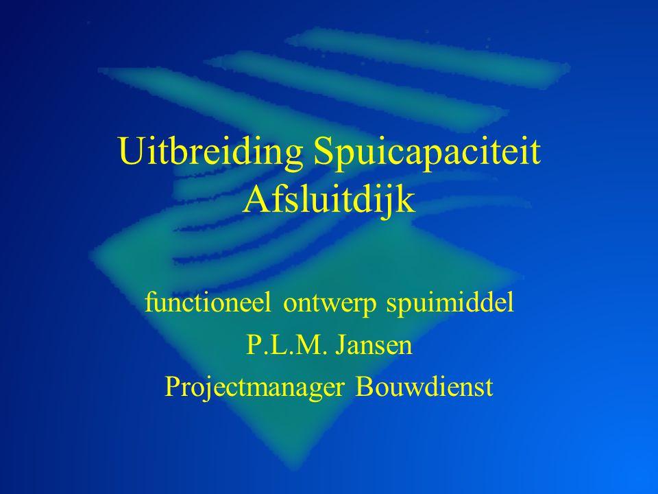 Uitbreiding Spuicapaciteit Afsluitdijk