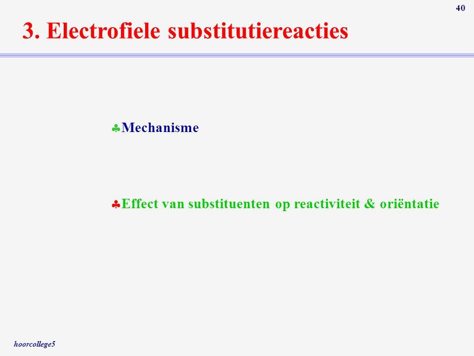 3. Electrofiele substitutiereacties