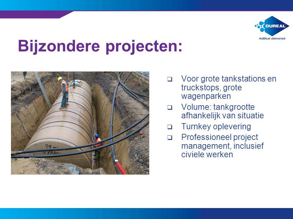 Bijzondere projecten: