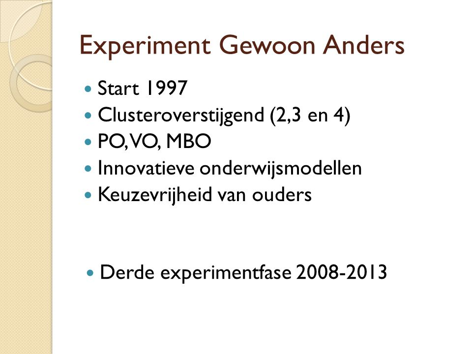Experiment Gewoon Anders