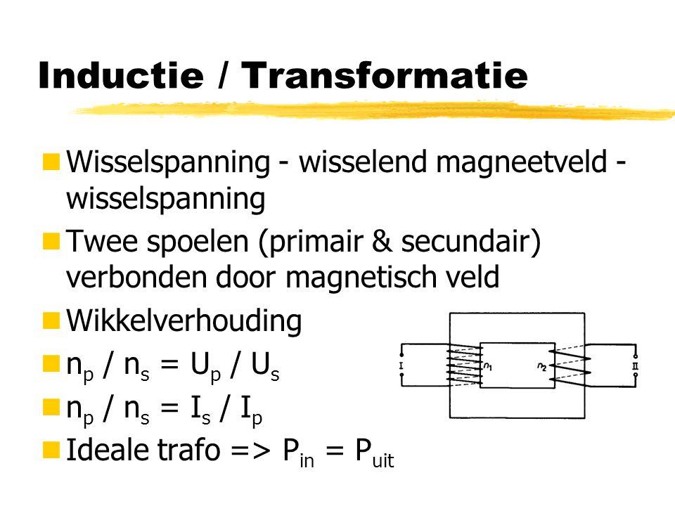 Inductie / Transformatie