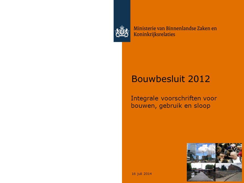 Integrale voorschriften voor bouwen, gebruik en sloop