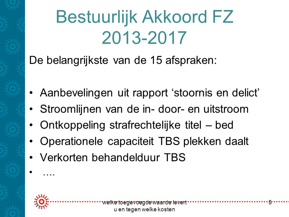 Bestuurlijk Akkoord FZ 2013-2017