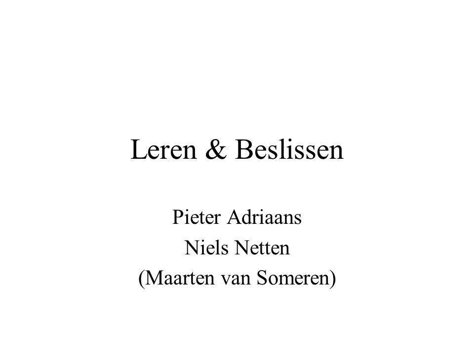 Pieter Adriaans Niels Netten (Maarten van Someren)