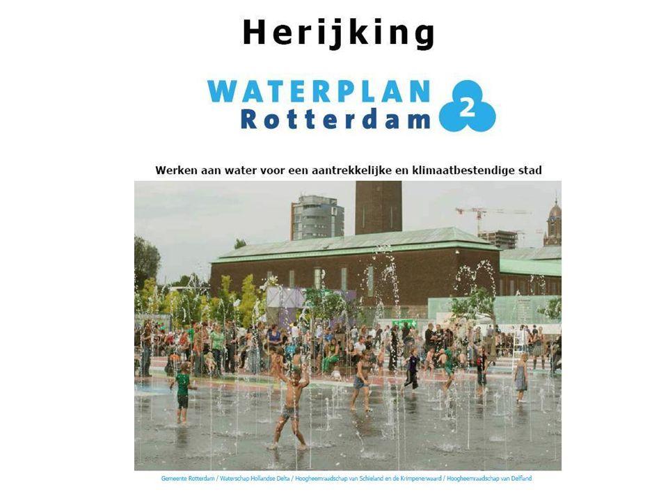 Doelen en aanpak wateropgaven in Rotterdam zijn vastgelegd in WP2