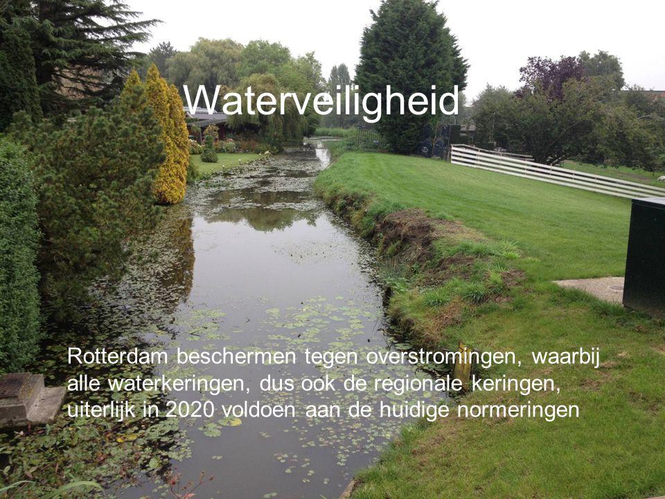 Waterveiligheid Foto nog vervangen door foto van grote boezemwaterkering met werkzaamheden.