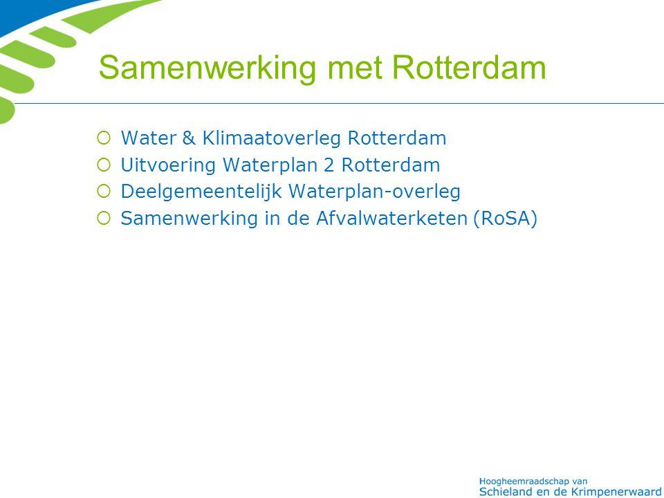 Samenwerking met Rotterdam
