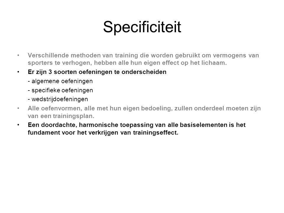 Specificiteit