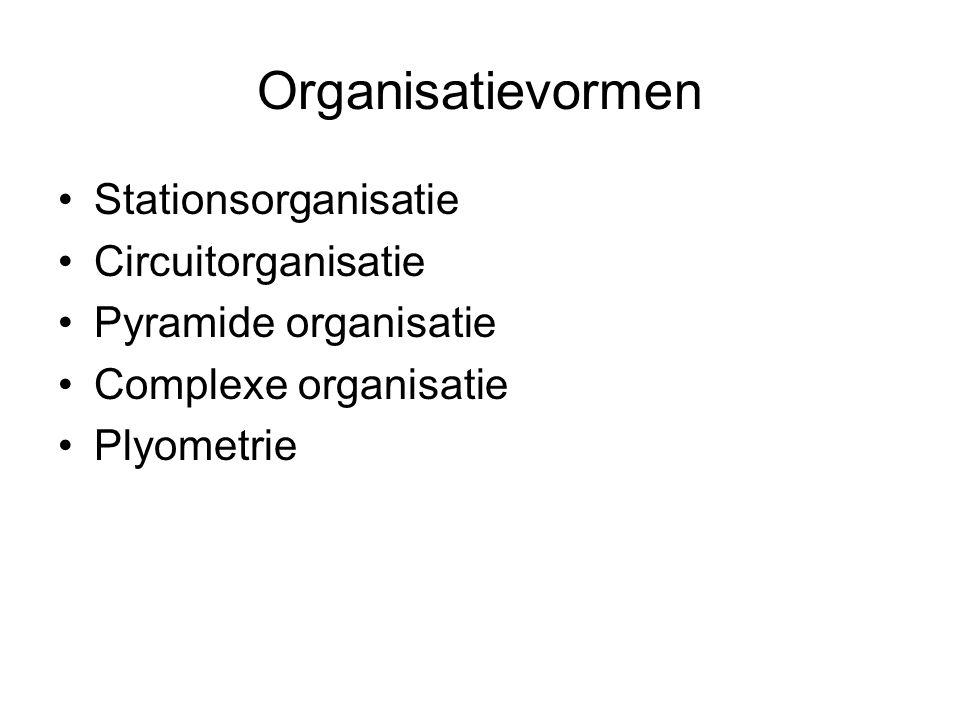 Organisatievormen Stationsorganisatie Circuitorganisatie