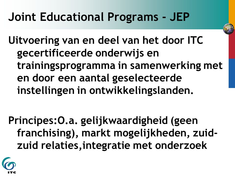 Joint Educational Programs - JEP