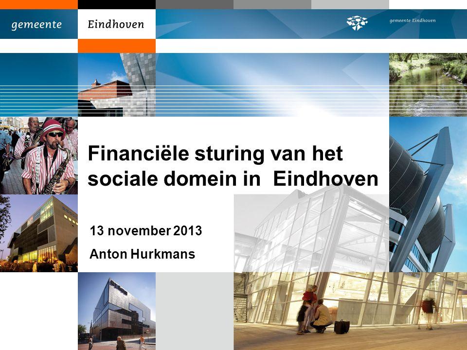 Financiële sturing van het sociale domein in Eindhoven
