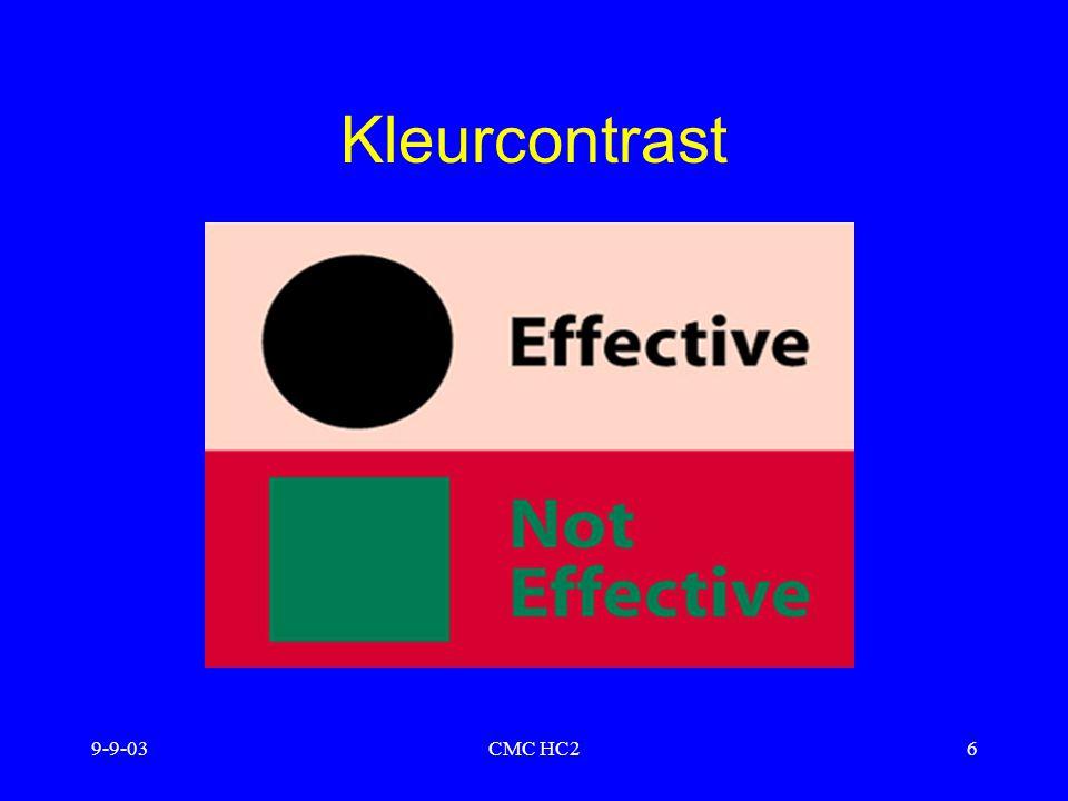 Kleurcontrast 9-9-03 CMC HC2