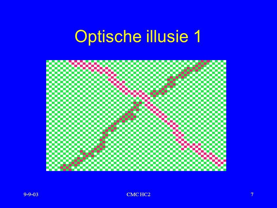 Optische illusie 1 9-9-03 CMC HC2