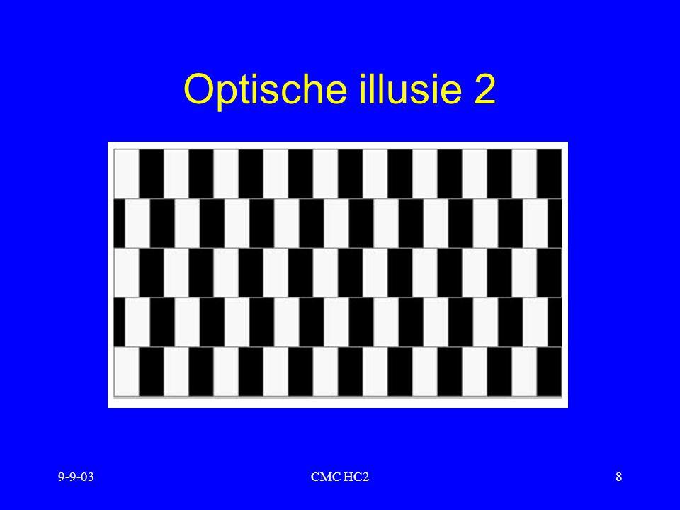 Optische illusie 2 9-9-03 CMC HC2