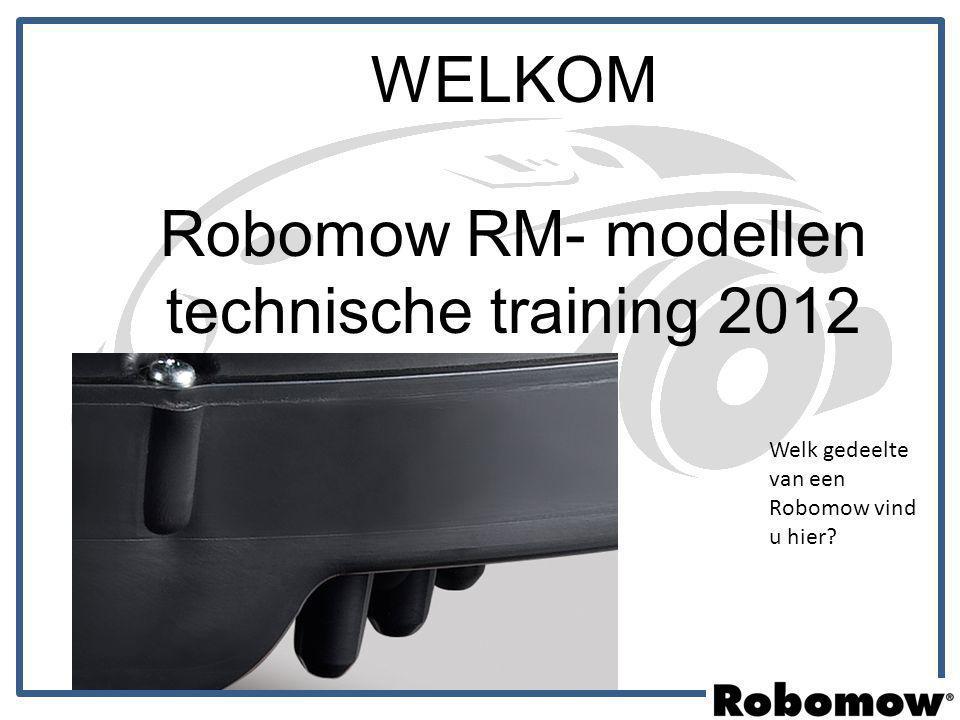 Robomow RM- modellen technische training 2012