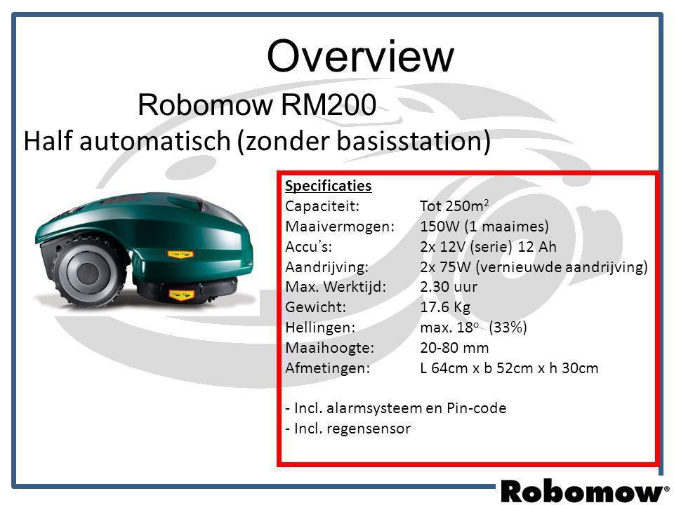 Robomow RM200 Half automatisch (zonder basisstation)
