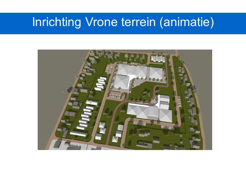 Inrichting Vrone terrein (animatie)