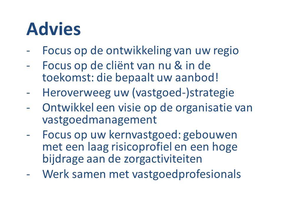 Advies Focus op de ontwikkeling van uw regio