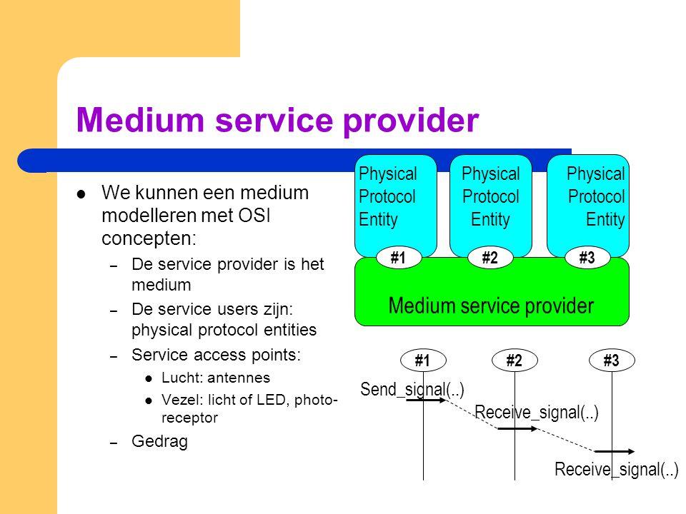 Medium service provider