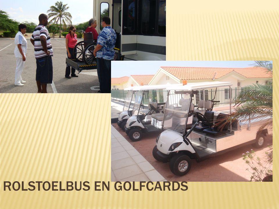 Rolstoelbus en golfcards