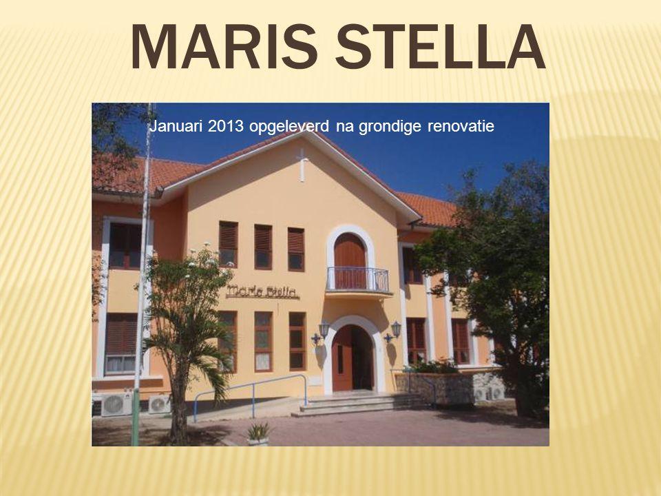 Maris Stella Januari 2013 opgeleverd na grondige renovatie