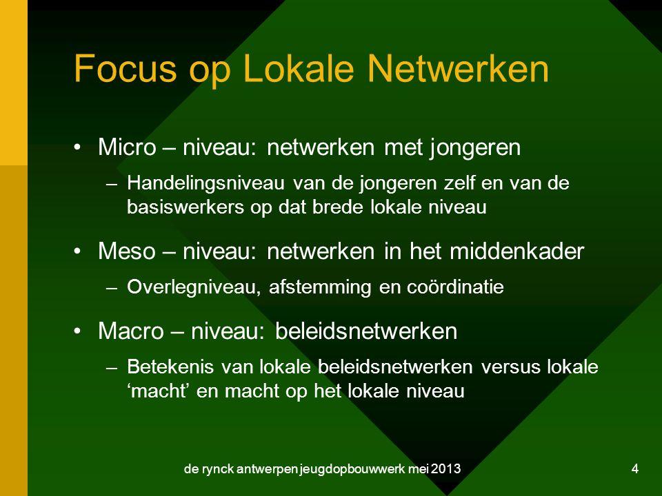 Focus op Lokale Netwerken