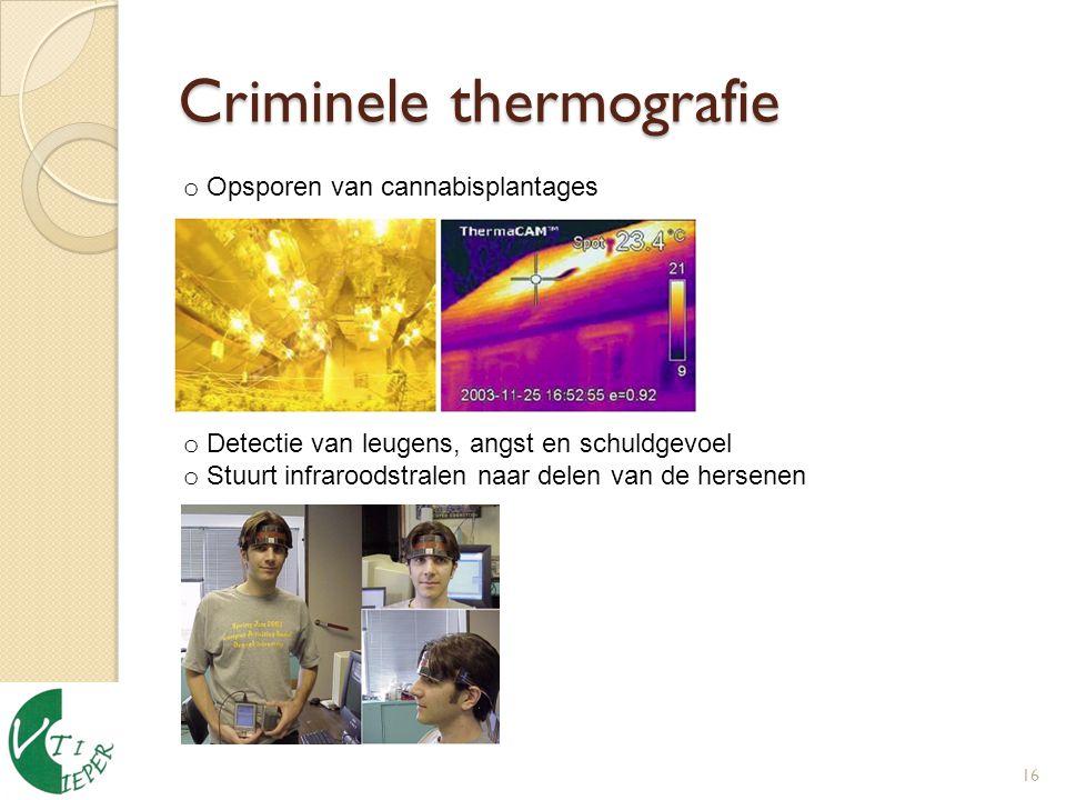 Criminele thermografie
