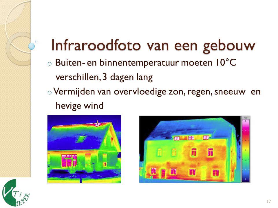 Infraroodfoto van een gebouw