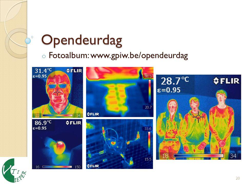 Fotoalbum: www.gpiw.be/opendeurdag