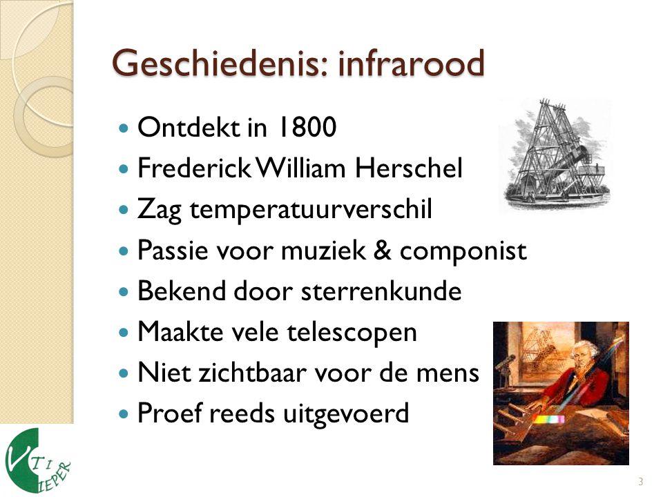 Geschiedenis: infrarood