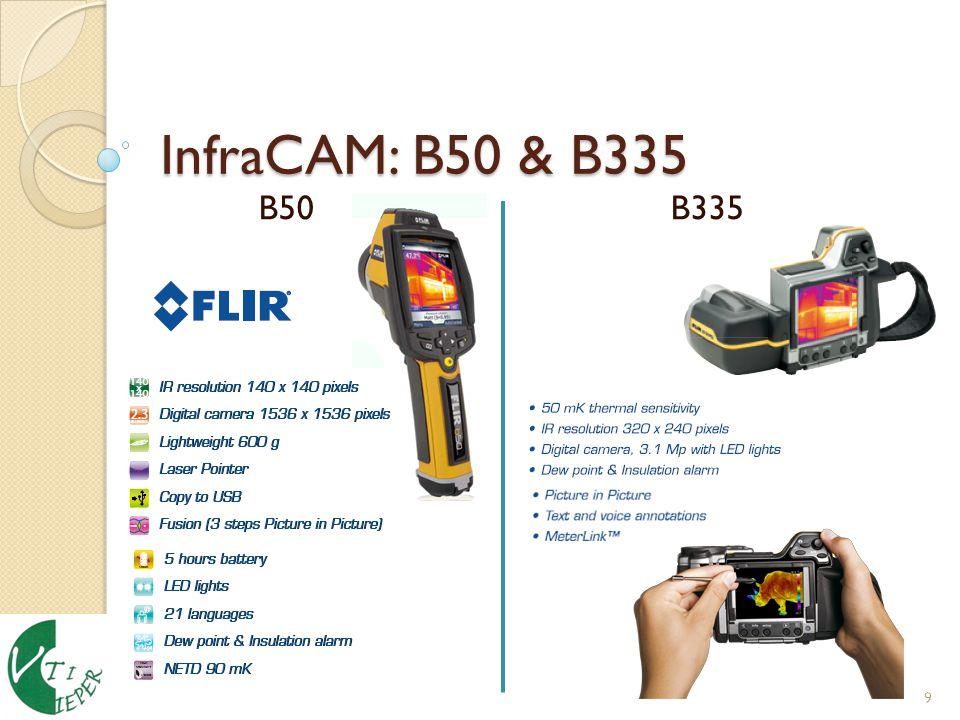 InfraCAM: B50 & B335 B50 B335