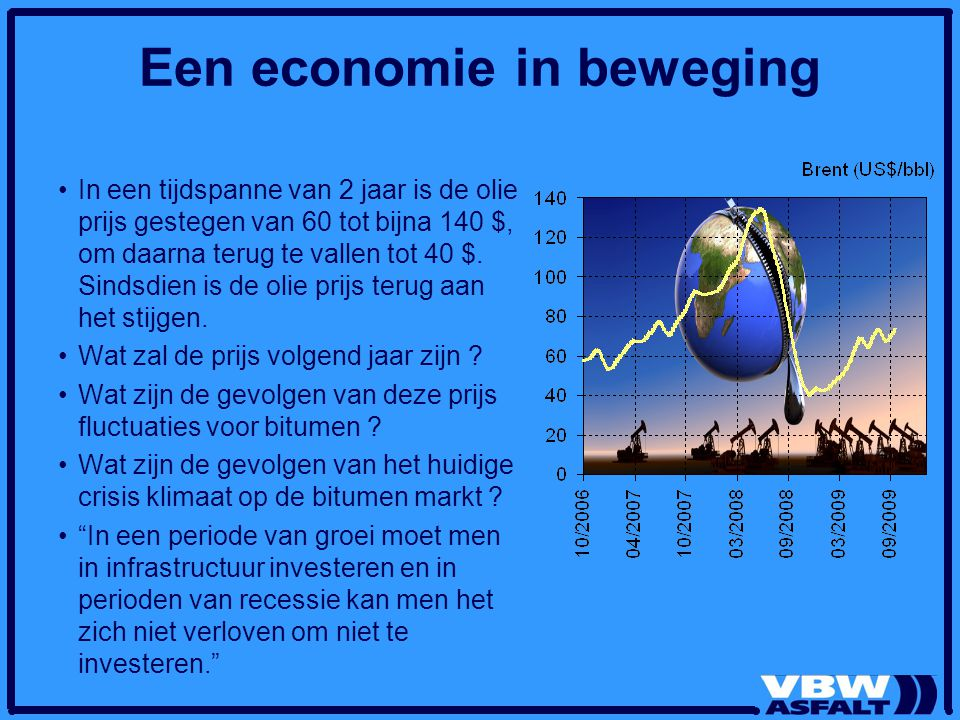 Een economie in beweging