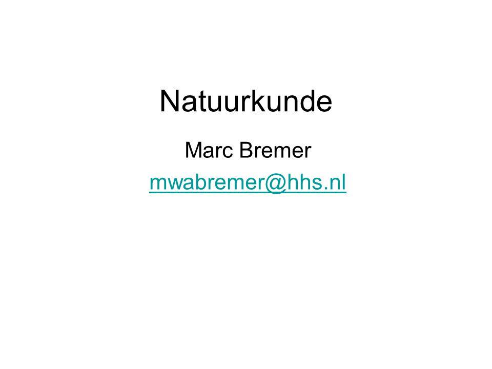Marc Bremer mwabremer@hhs.nl