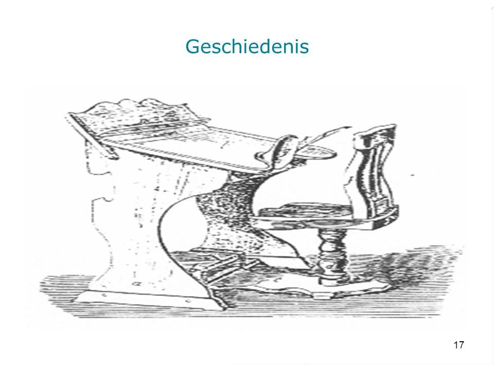 Geschiedenis Figuren: Schoolmeubilair volgens Happel (eind 19de eeuw) Geschiedenis.