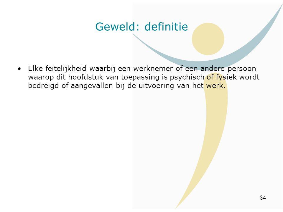 Geweld: definitie