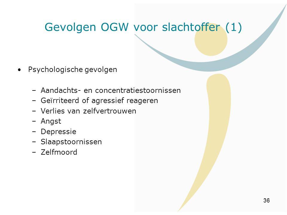 Gevolgen OGW voor slachtoffer (1)
