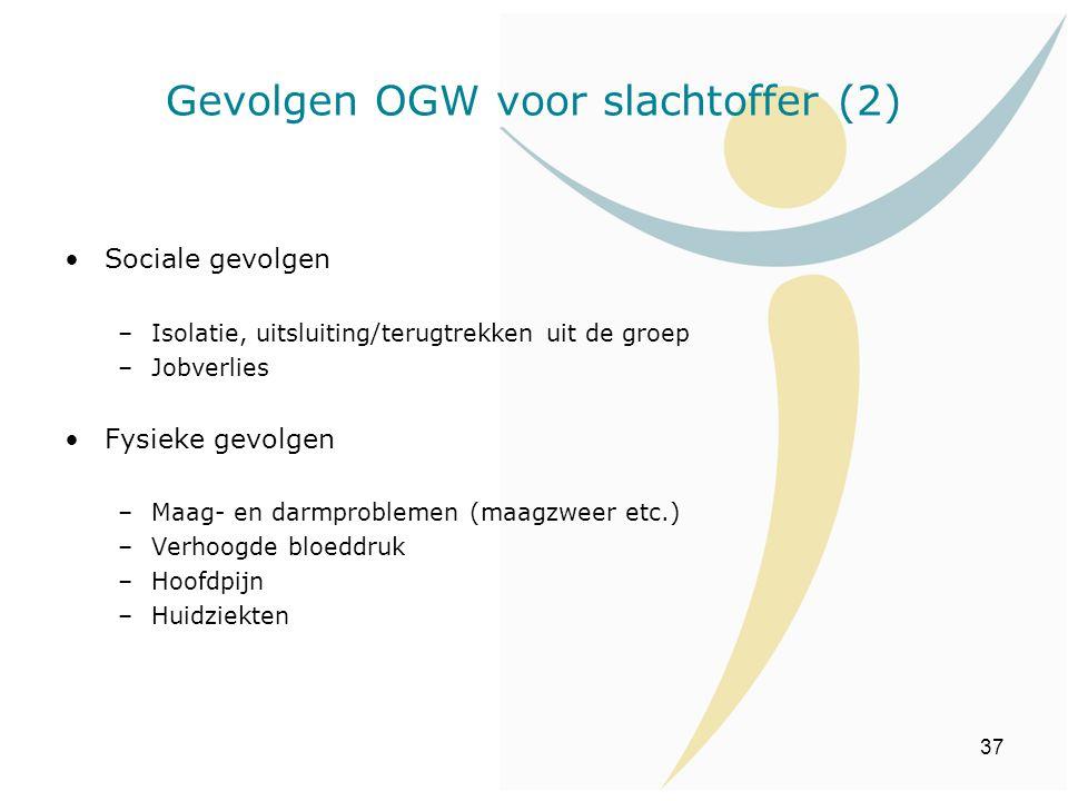 Gevolgen OGW voor slachtoffer (2)