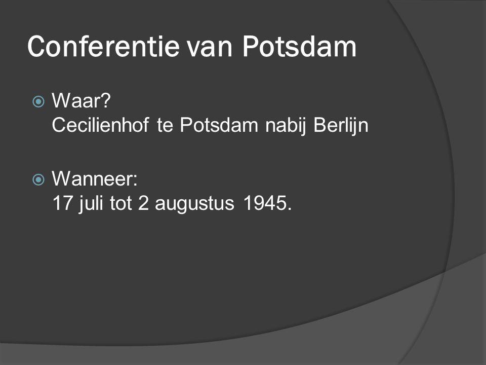 Conferentie van Potsdam