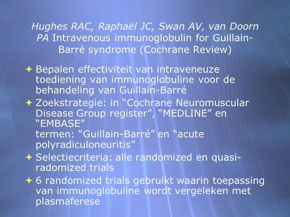 Selectiecriteria: alle randomized en quasi-radomized trials